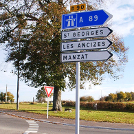 signalisation routiere et normalisee
